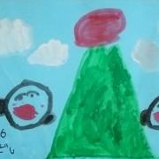 コムギの絵とギリギリ年賀状