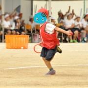 コムギ1年生、小学校初の運動会(2)