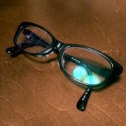 コムギのメガネ完成!