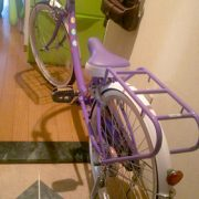 ユッチの自転車を購入