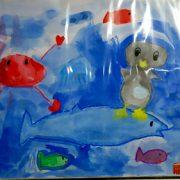 魚の絵の向き